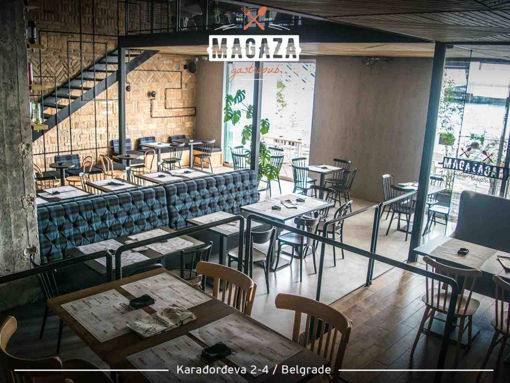 Restoran Magaza Beton Hala